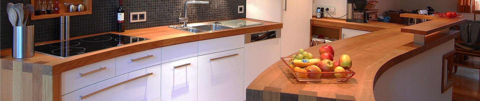 Küchenzeile in Massivholz in Leverkusen